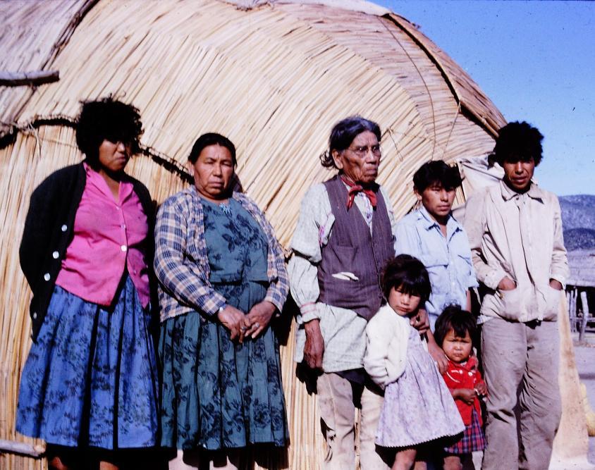 Kickapoo Family, Mexico