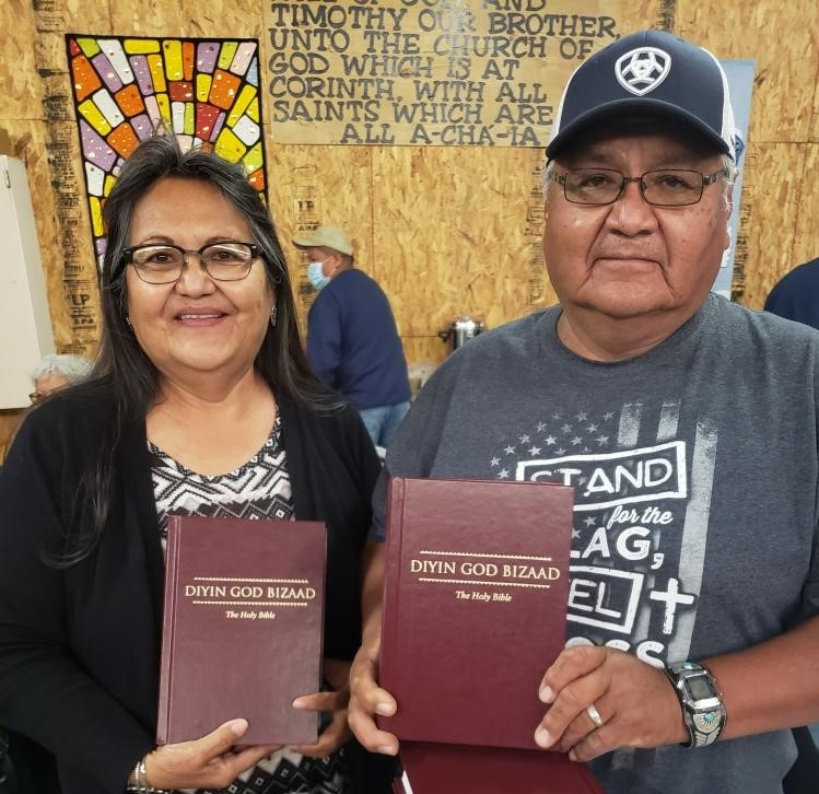 With Navajo Bibles